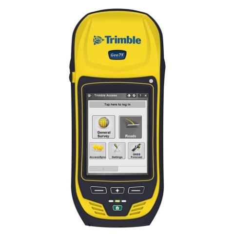 Trimble Geo7X - delninis GPS+GLONASS imtuvas ir duomeų kaupilis