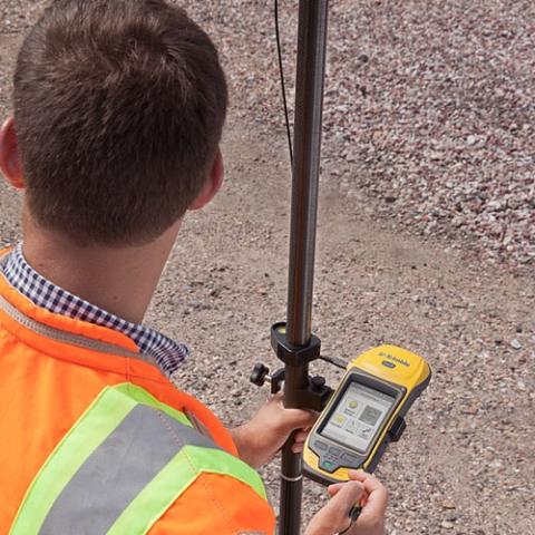 Trimble Geo7X - delninis GPS+GLONASS imtuvas tiksliems matavimams