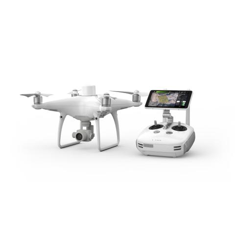 DJI Phantom 4 RTK dronas su programine įranga automatinių misijų planavimui