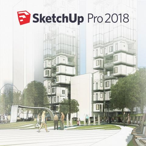 SketchUp 3D modeliavimo programa