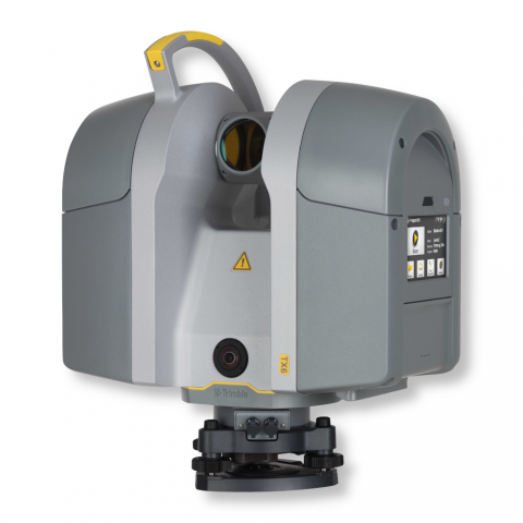 Antžeminis 3D skeneris Trimble TX6