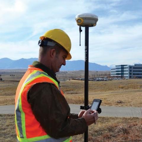 Trimble R4 GNSS sistema