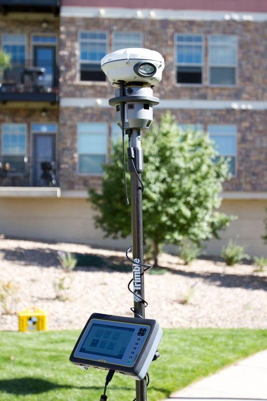 Trimble V10 integracija su GPS imtuvu