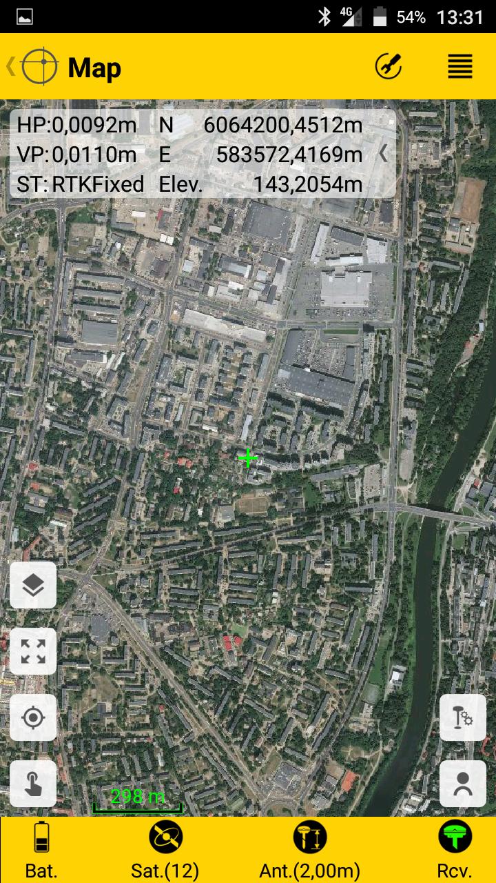 Spectra Survey Mobile ortofoto žemėlapis