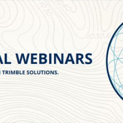 Trimble Geospatial Webinars