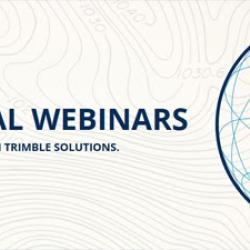 Trimble Geospatial Webinars