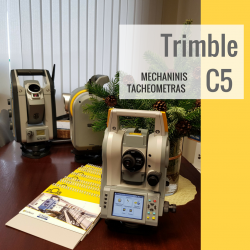 Trimble C5 elektroninis tacheometras