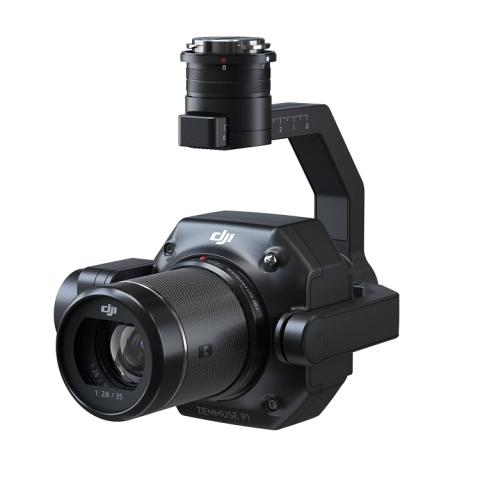 DJI P1 pilno kadro vaizdo kamera