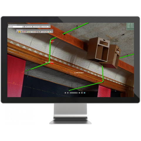 Trimble RealWorks screen
