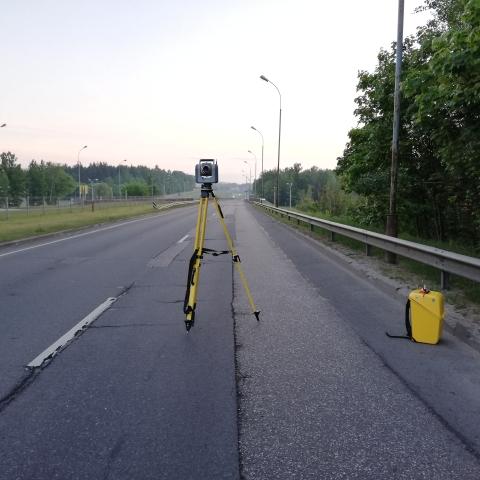 Geležinio vilko - Vilnius - Trimble SX10 su T10 ir Trimble Access (rytas)