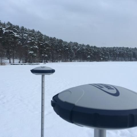 Spectra SP60 GNSS imtuvas Bazė-Roveris