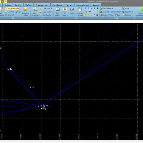 Specra Survey Office - Tolimesnio duomenų apdorojimo PĮ  - Komlektuojama su SP60