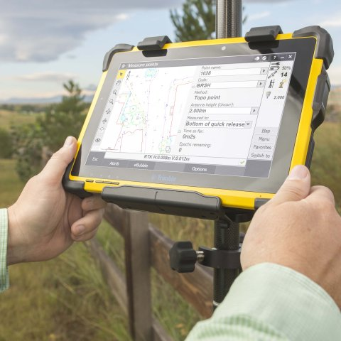Trimble T10 + Trimble Access