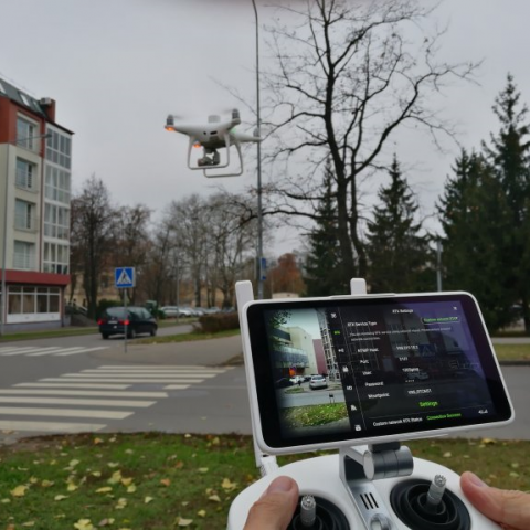 DJI Phantom 4 RTK dronas