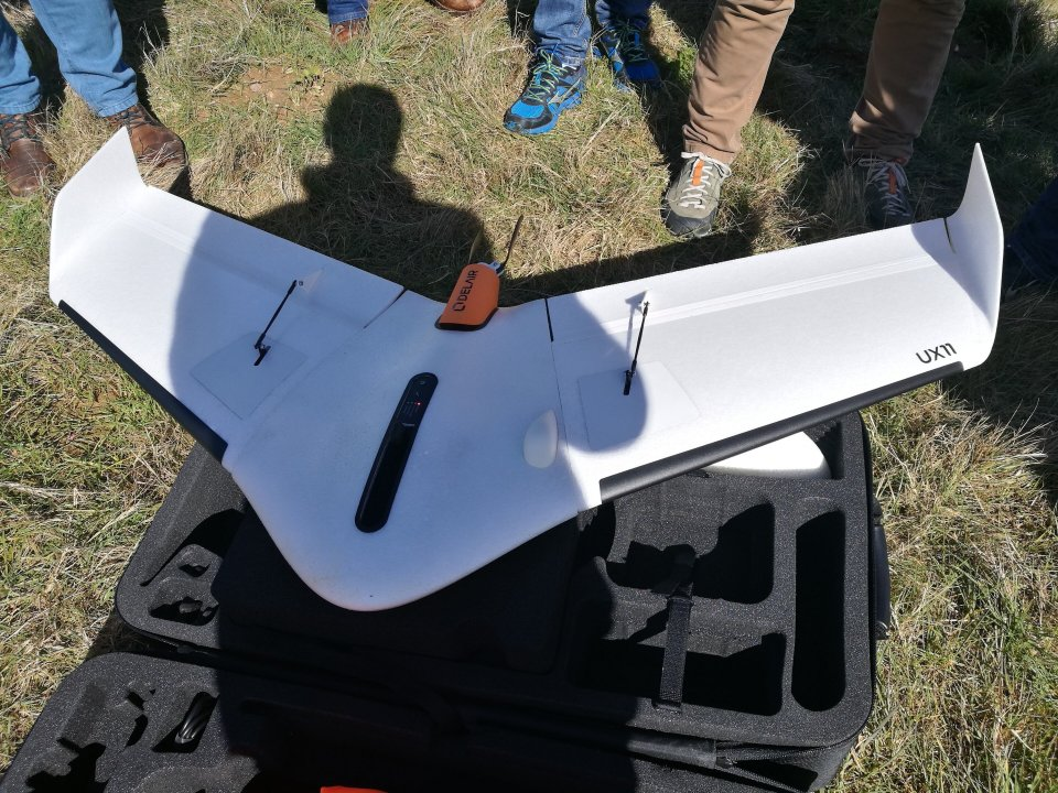 """""""Delair UX11"""" dronas"""