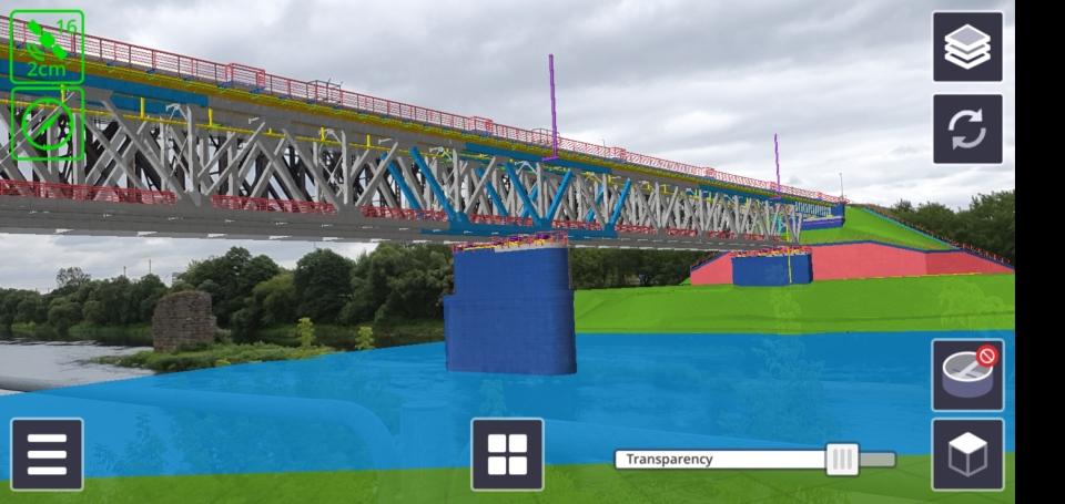 Jonavos geležinkelio tiltas per Nerį
