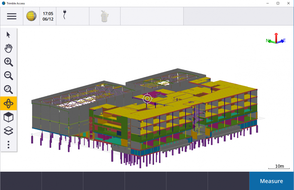 Skaitmeninis pastato modelis